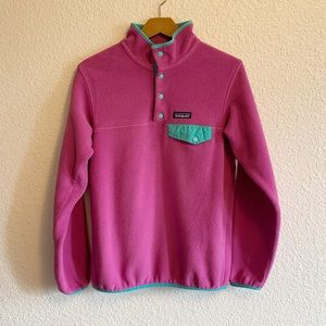 Patagonia Synchilla Jacket in Purple and Blue